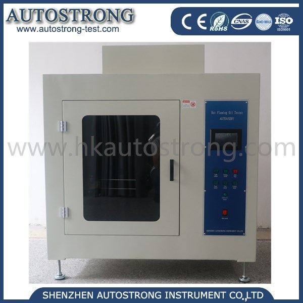 Hot Oil Flaming Tester